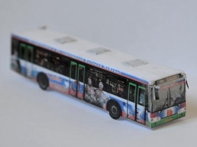 Бумажная модель автобуса