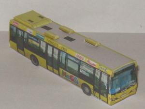 Модель автобуса scania omnilink cl94ub №632