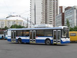 Маршрут троллейбуса 1 на карте Москвы - WikiRoutes info