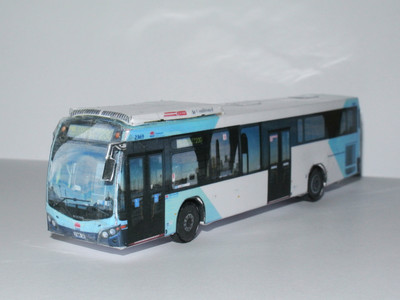 Bus model Custom Coaches CB80