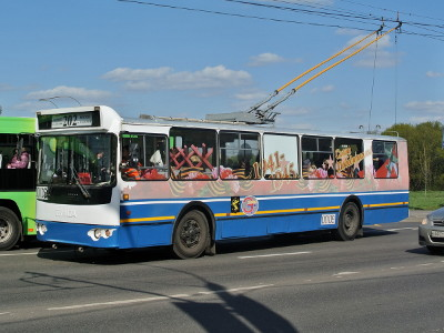Троллейбус № 1 - Портал Москва Пассажирская